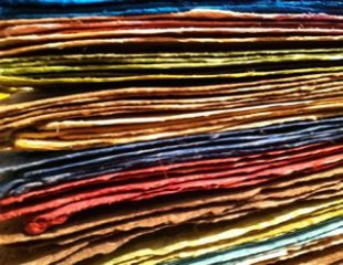 Handmade Amate paper, also known as Bark Paper, has a rich history that dates back to the Aztecs.