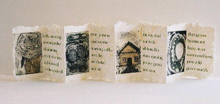 Gina Page shares her artistic and inventive bookmaking process with us.