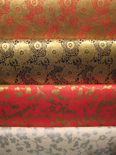 That glorious Autumn Feeling is here as sensual colors and textures surround us. Here are a few of our newest papers that seem to reflect the richness of this time of year.