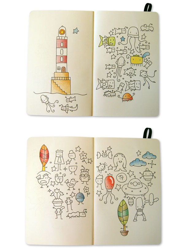 What's in your Moleskine? Christian Borku from Barcelona, Spain shows us his