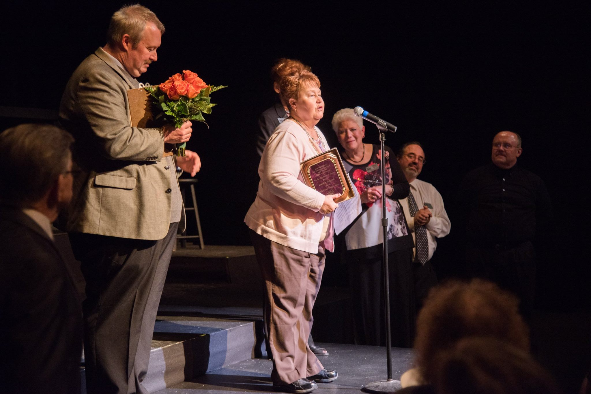 Carolyn Ragasuett recieves the Zoe Cloak Award from Attic Chamber Theatre.jpg