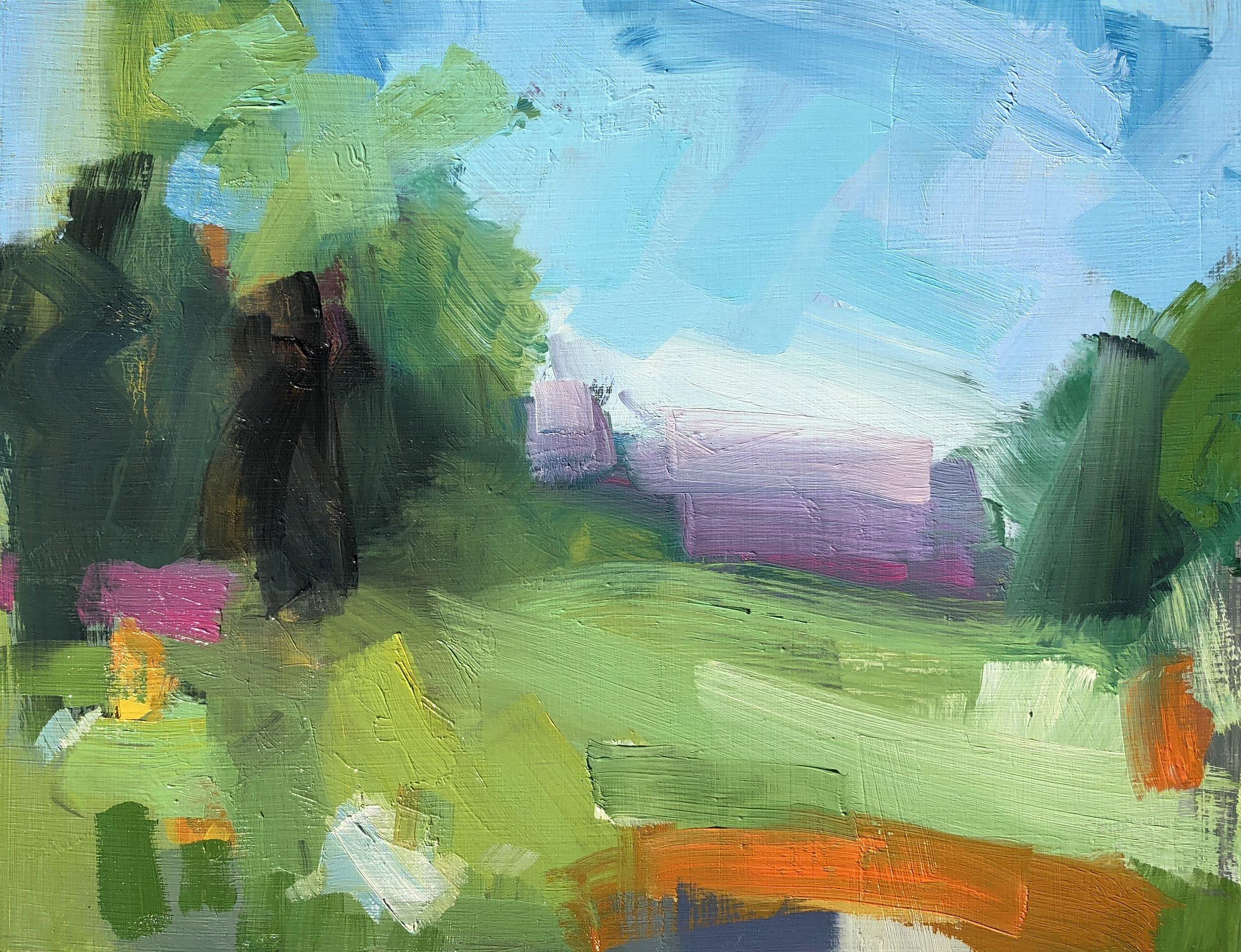 Paese Landscape I