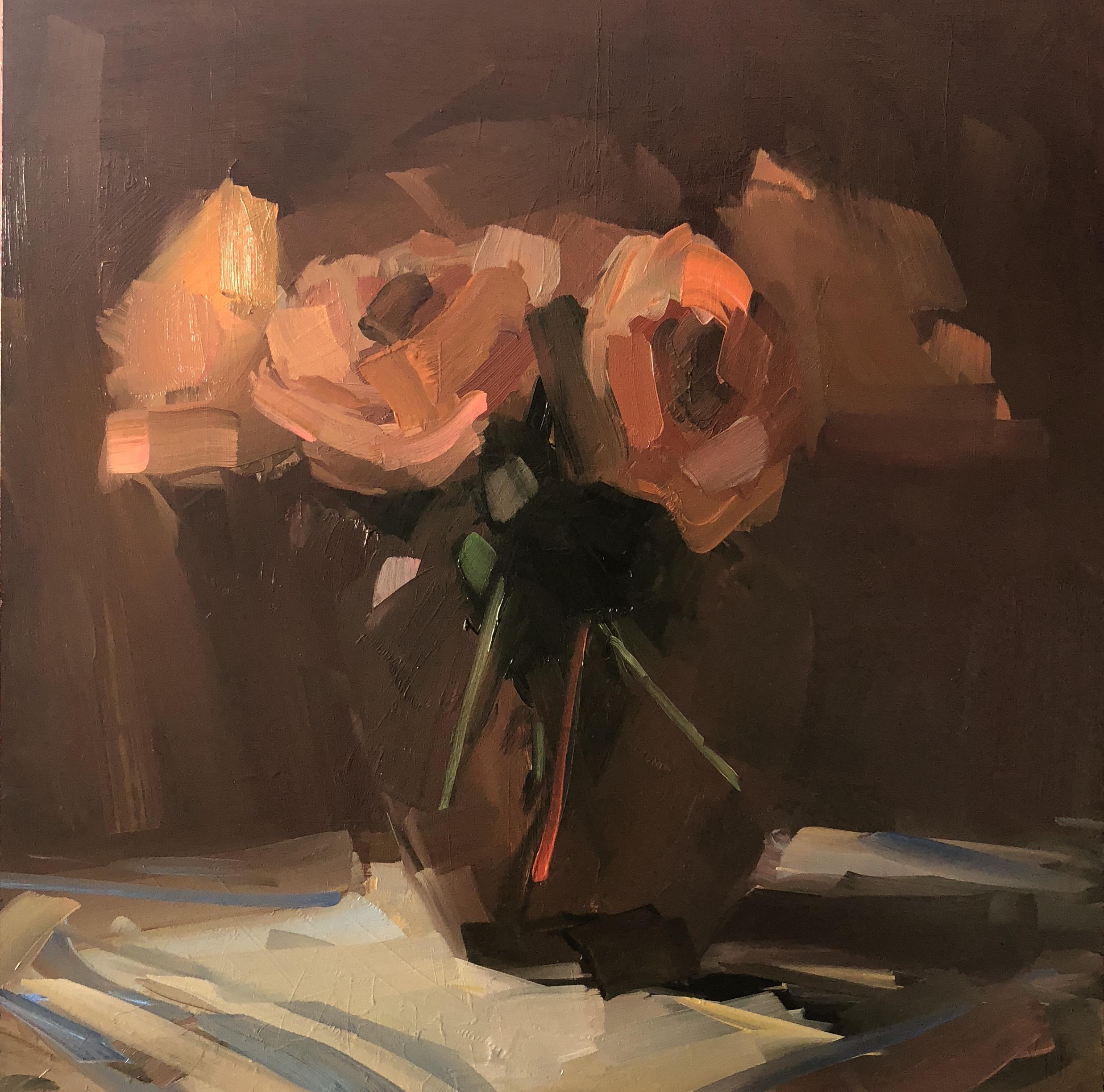 Orange Roses I, December