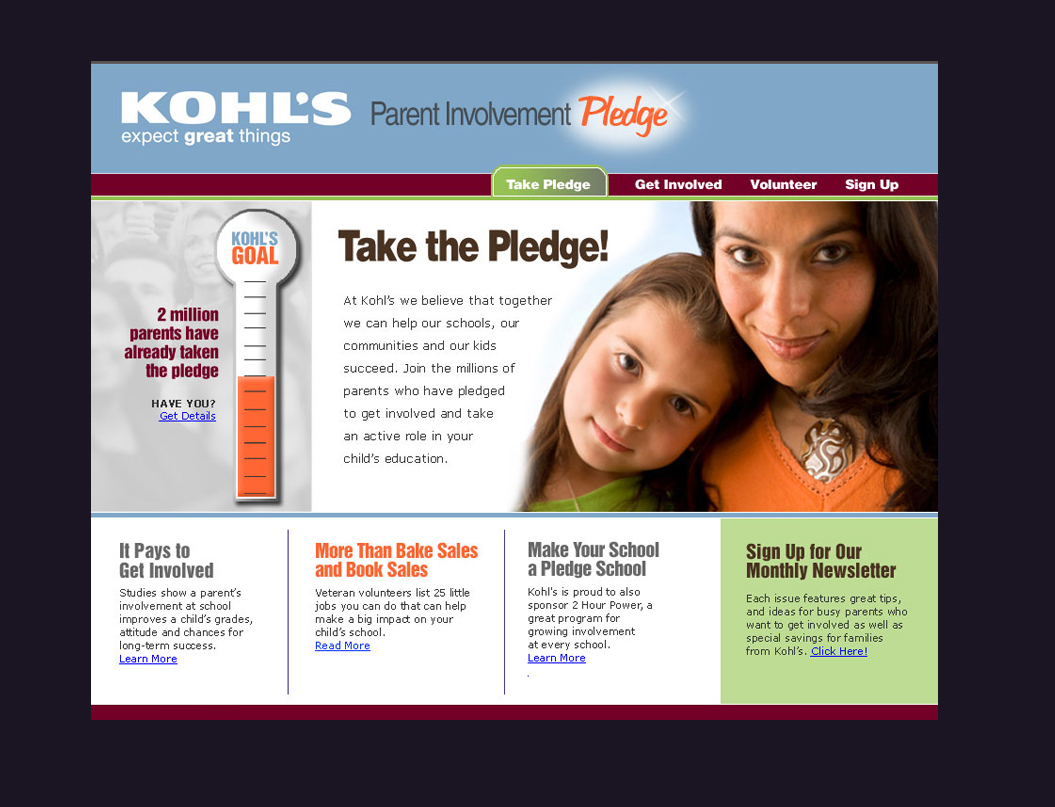Kohl's Micro Site