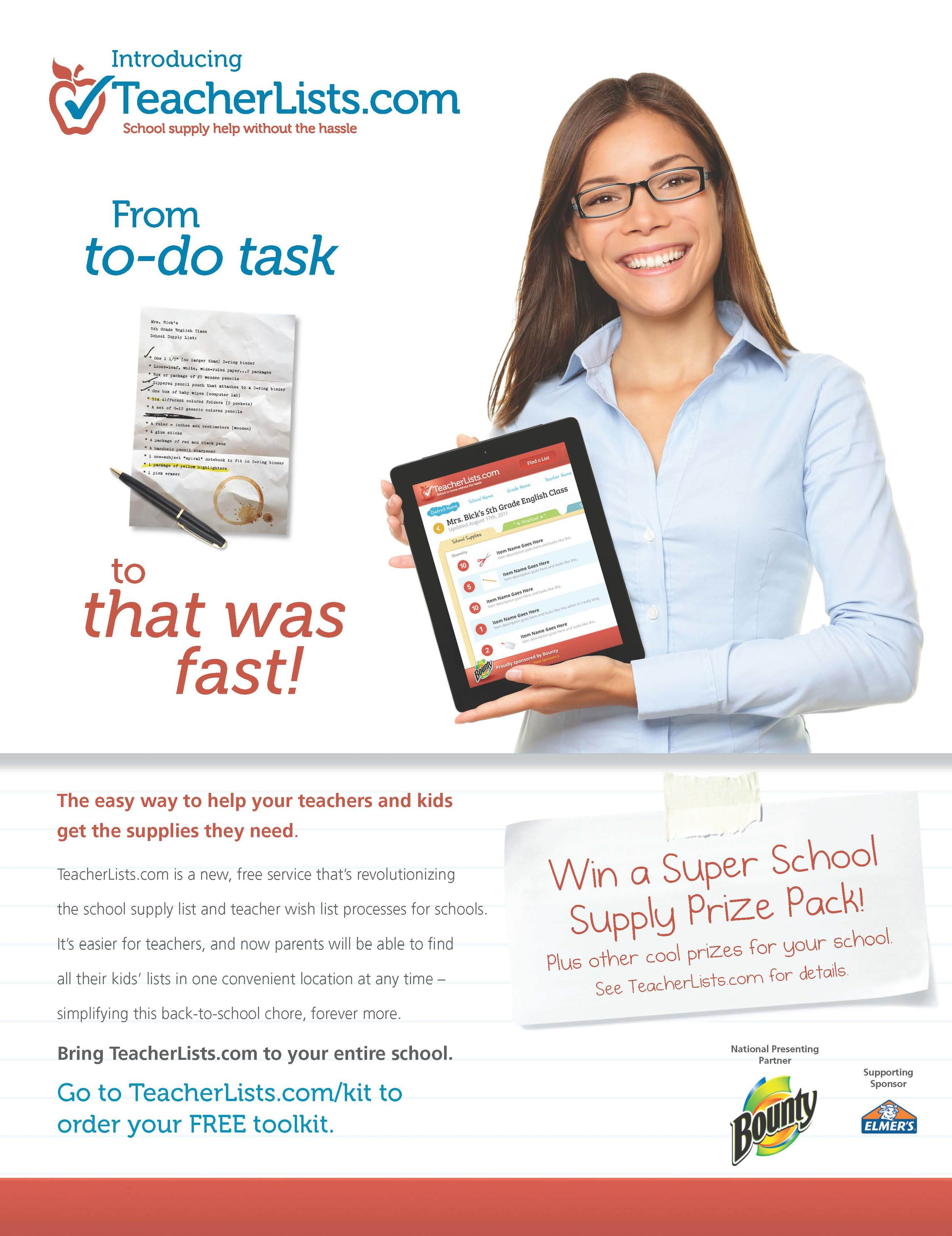 TeacherLists.com Ad Campaign
