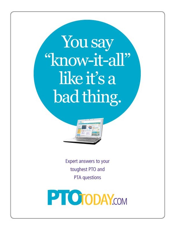 PTO Today Print Ad Campaign