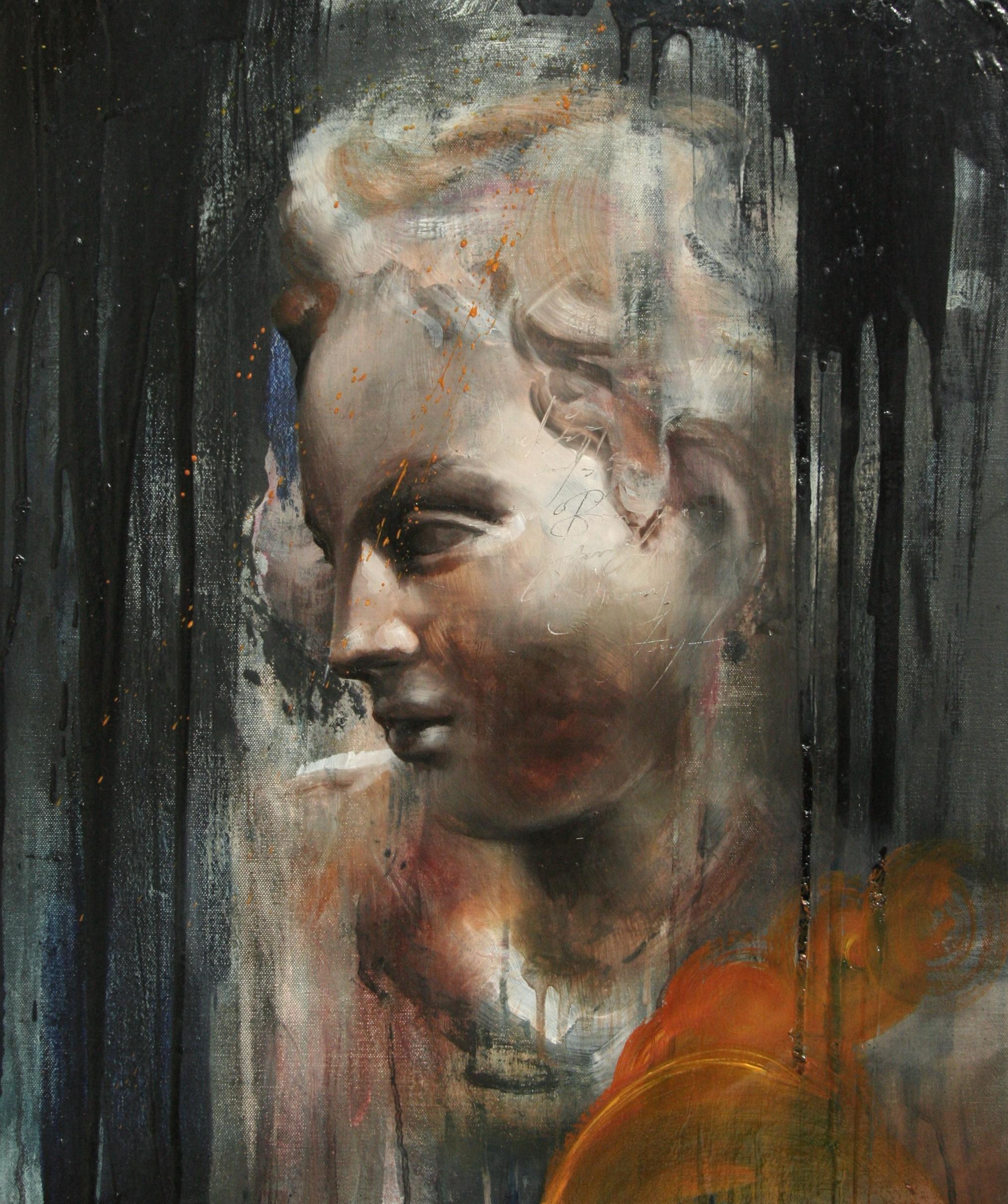 """Sonata pian e' forte oil on canvas 20""""x24"""" 2011"""