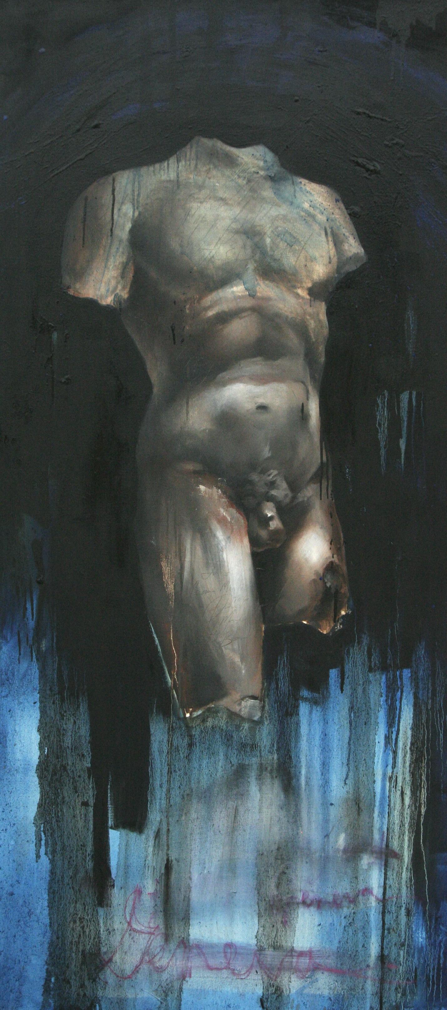 """Geneva oil on canvas 32""""x70"""" 2011"""