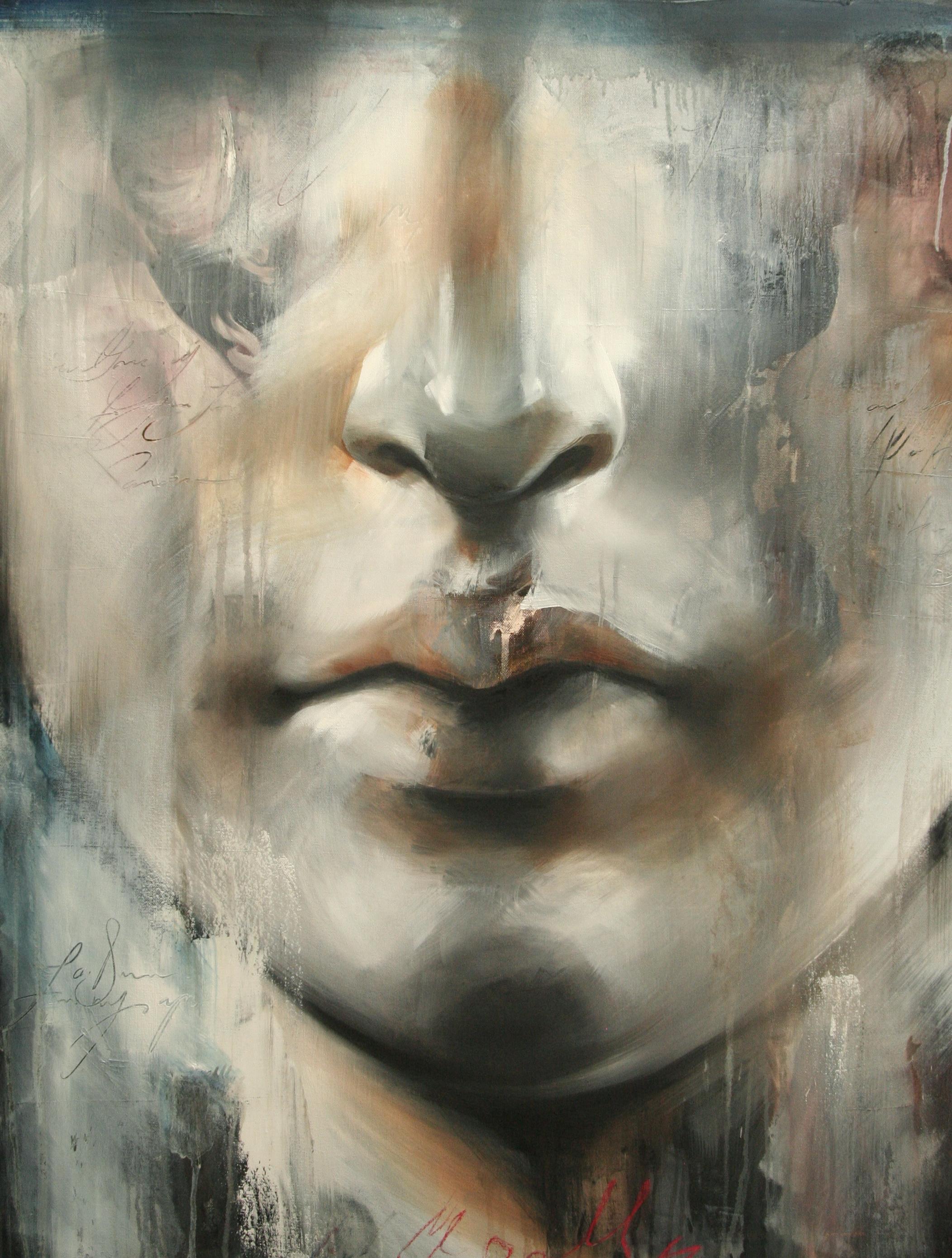 "For Apollo oil on canvas 30""x40"" 2011"