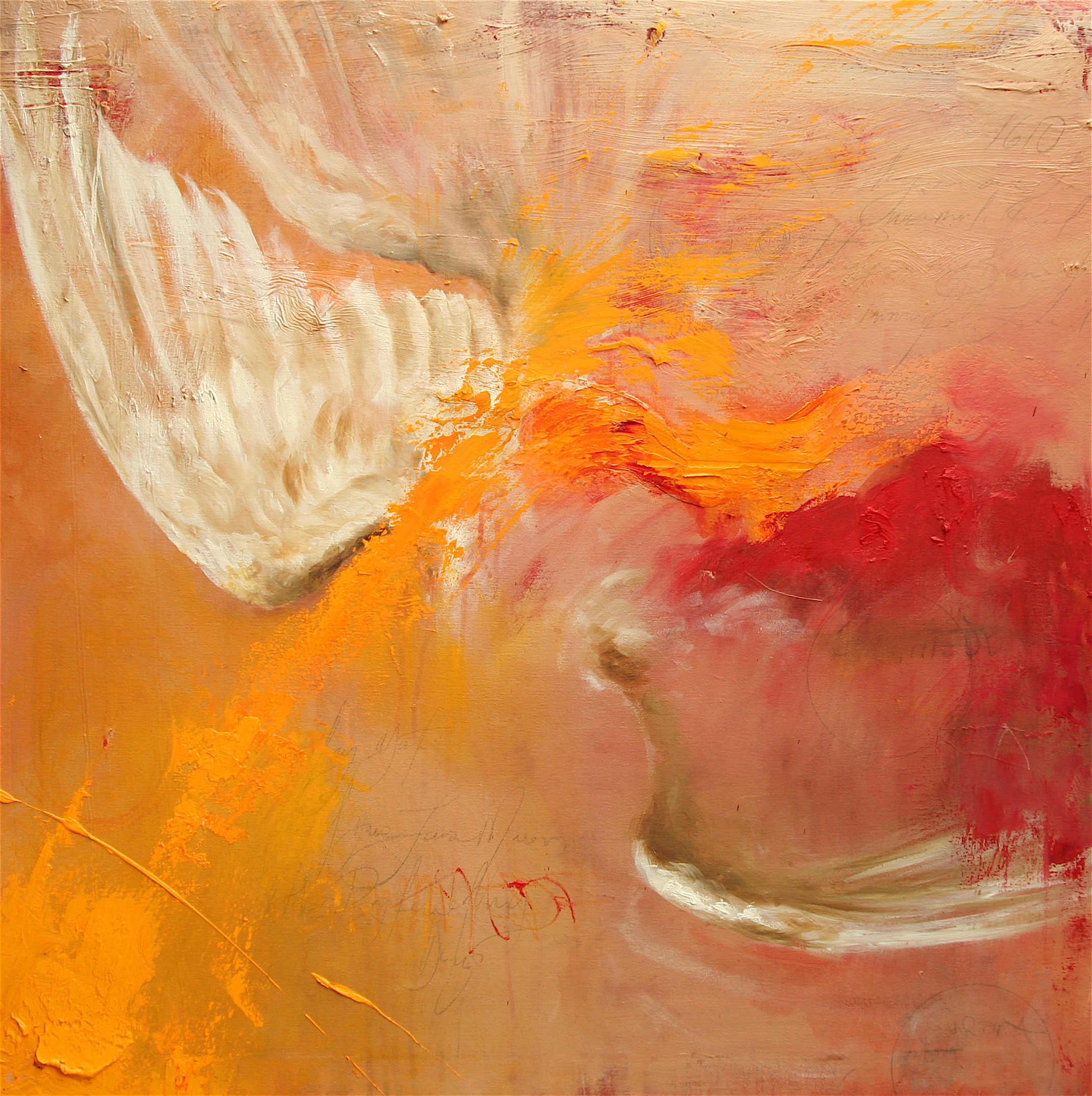 "1610 36""x36"" oil on canvas 2007"