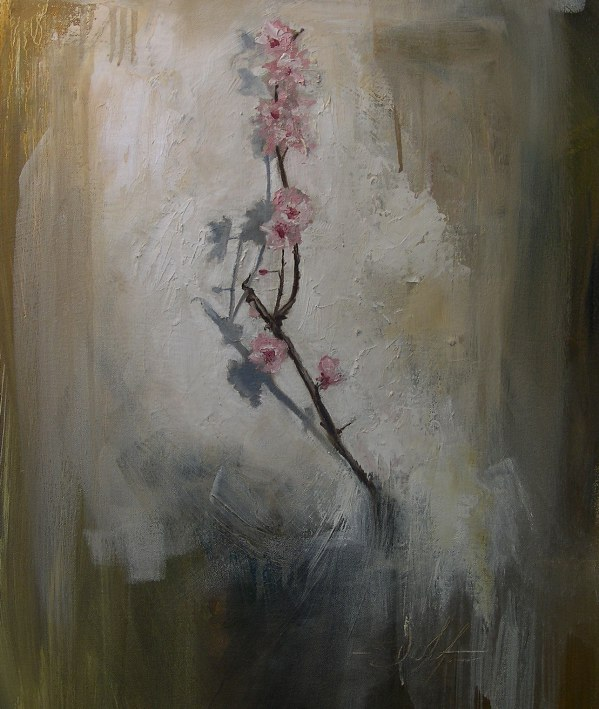 """Blossom 24""""x20""""oil on canvas"""