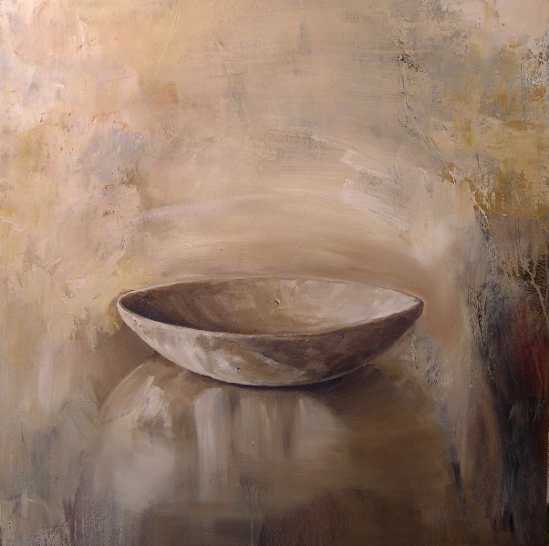 """Vessel 36""""x36"""" oil on canvas"""