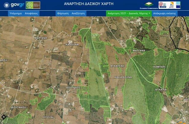 Ο χάρτης του παλιού αεροδρομίου χωρίς το αεροδρόμιο!
