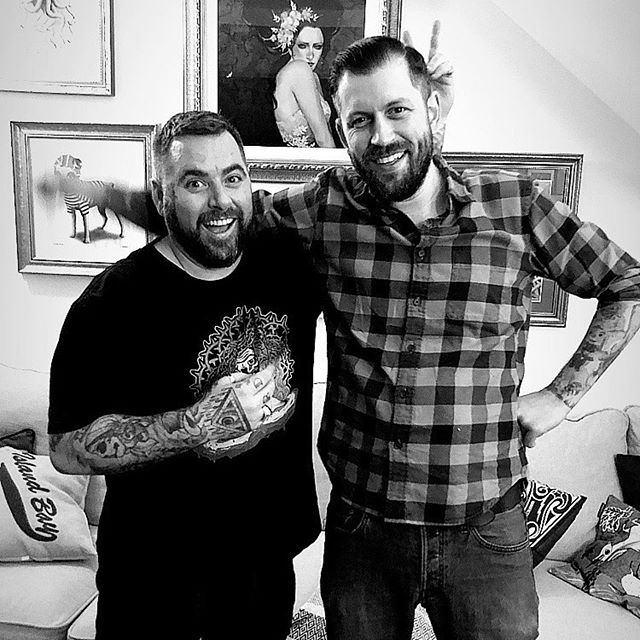 @tall_tales_and_tattooing ・・・ Tall Tales And Tattooing Season 1 Episode 2 is now streaming! This weeks episode we talk to @toddbaileytattoo of @thirteenfeettattoo in Sydney about world travels, the trials and tribulations of opening a shop and how liscensing changed the game in New South Wales. #Click the link in our bio!!! #podcast #tattoo #tattooing #tattoopodcast #podcasting#podcaster #podcastshow  #toddbaileytattoo #newtowntattoo #thirteenfeettattoo #tattooer #madusa #haymarket #tattooart #tattooideas #sleeveirwin #realistictattoo #tattoo #tattoolife #tattooartist #tattoodesign #bngtattoo #tattoos #tattooing #blackandgrey #portraittattoo #tattoosofinstagram #blackandgrey #blackandgreytattoo #cyborgtattoo