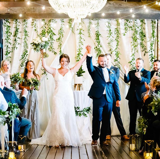 Bombarding our stories today with sneak peeks from Erin & Ryan's incredible day at @thehaight . So much laughter & so many smiles from this kind hearted couple! Plus, we love a bride who grabs the mic to lead a song at her party. Erin, you are such a doll ❤️ Florals: @eventsbytcg  Makeup: @grafin_beauty  Hair: @j_jagger27  Cake: @thesugarpath
