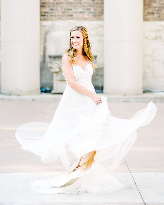 Find a gown that makes you want to twirl ❤️