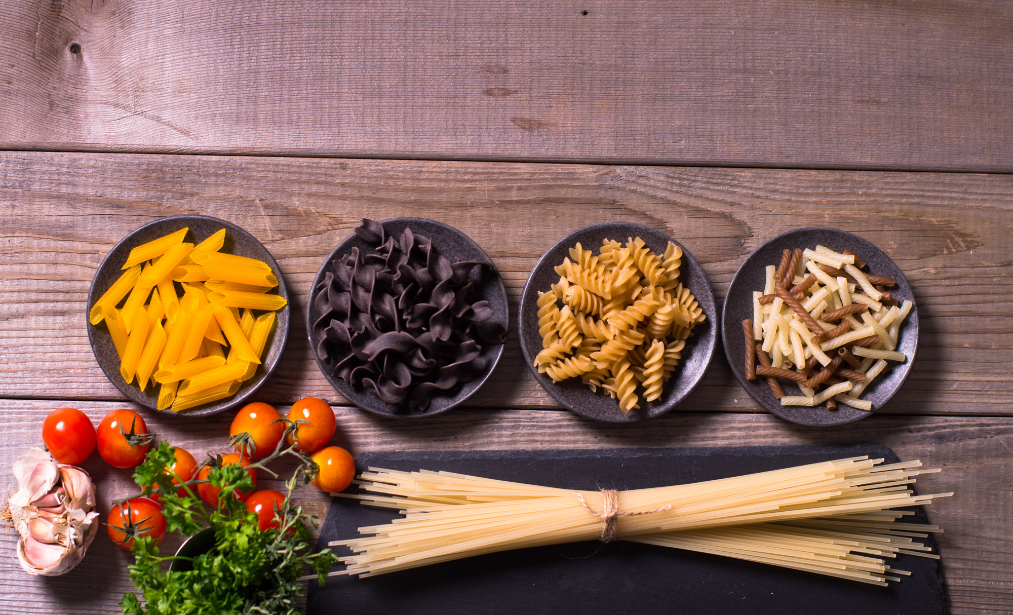 Dried Gluten-Free pasta varieties