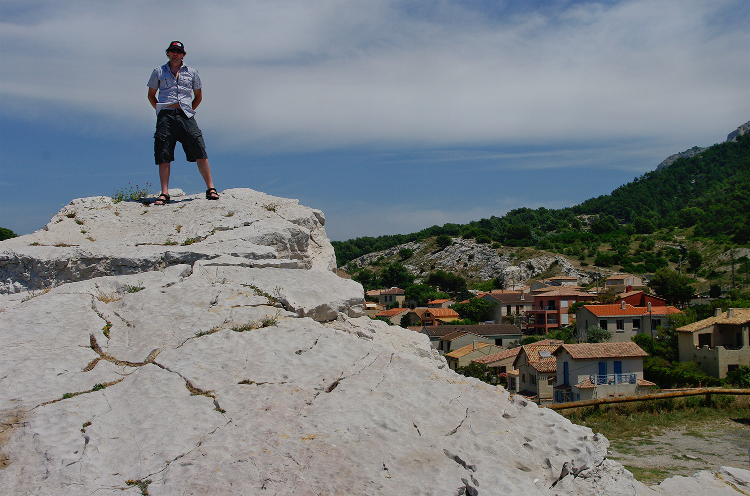 On top of the world in Marseille France