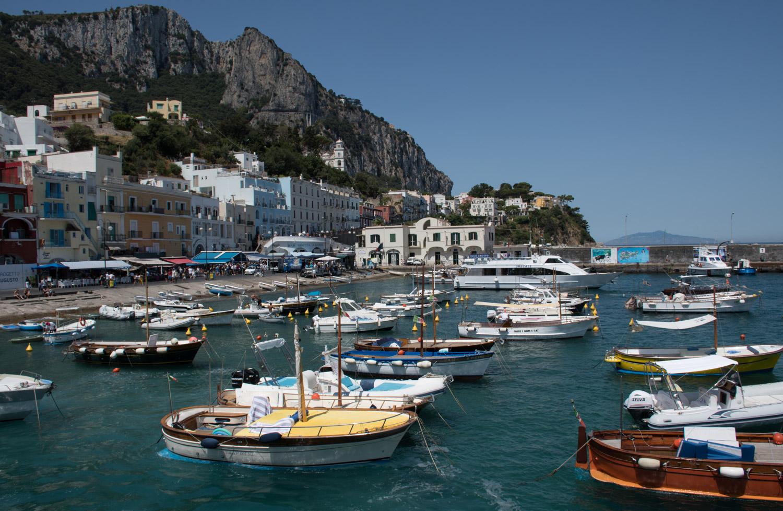 The Marina of Capri Italy
