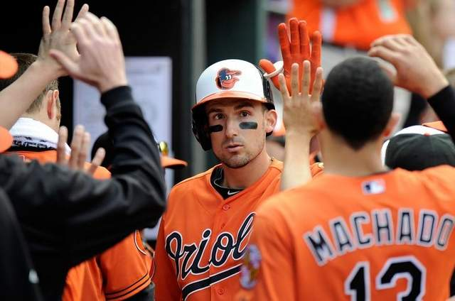 Ryan Flaherty is the odds-on favorite to win the starting second base job this Spring . . .