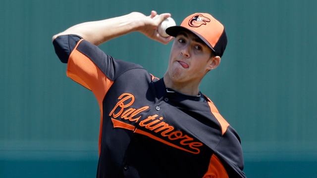 Kevin Gausman will likely contribute to the Orioles in one way or another during the 2014 season.