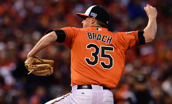 If the Orioles pull off a substantial trade this winter, Brad Brach is the most likely Oriole to go. (Credit: CBS Baltimore)