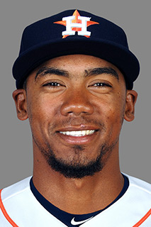 Teoscar Hernandez - Houston's 8th best prospect according to MLB.com - has the tools to be a 20-20 player. (Credit: MLB.com)