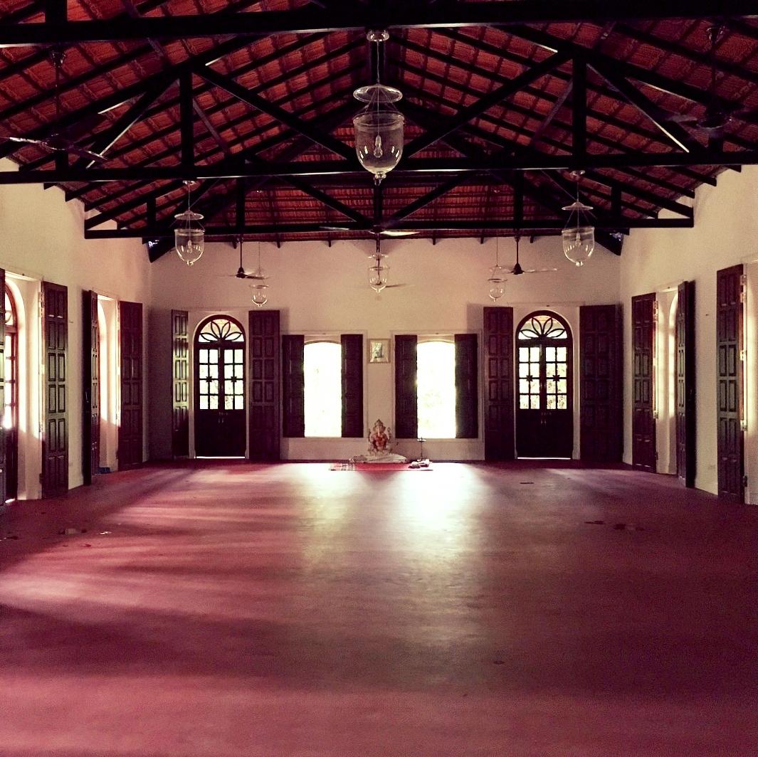 The Ashtanga Yoga Morjim shala in Goa, India (2018)