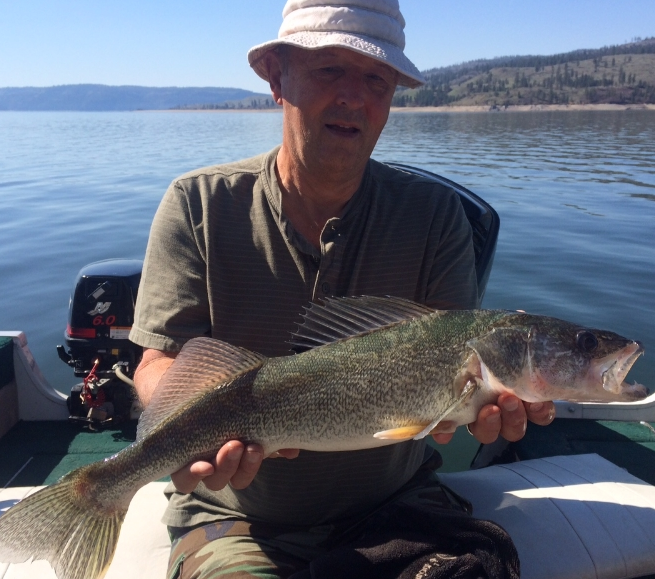 Ron H caught this big fish on Roosevelt on April 1st.