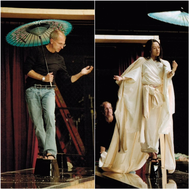 John teaching Zhang Ziyi during Memoirs of a Geisha