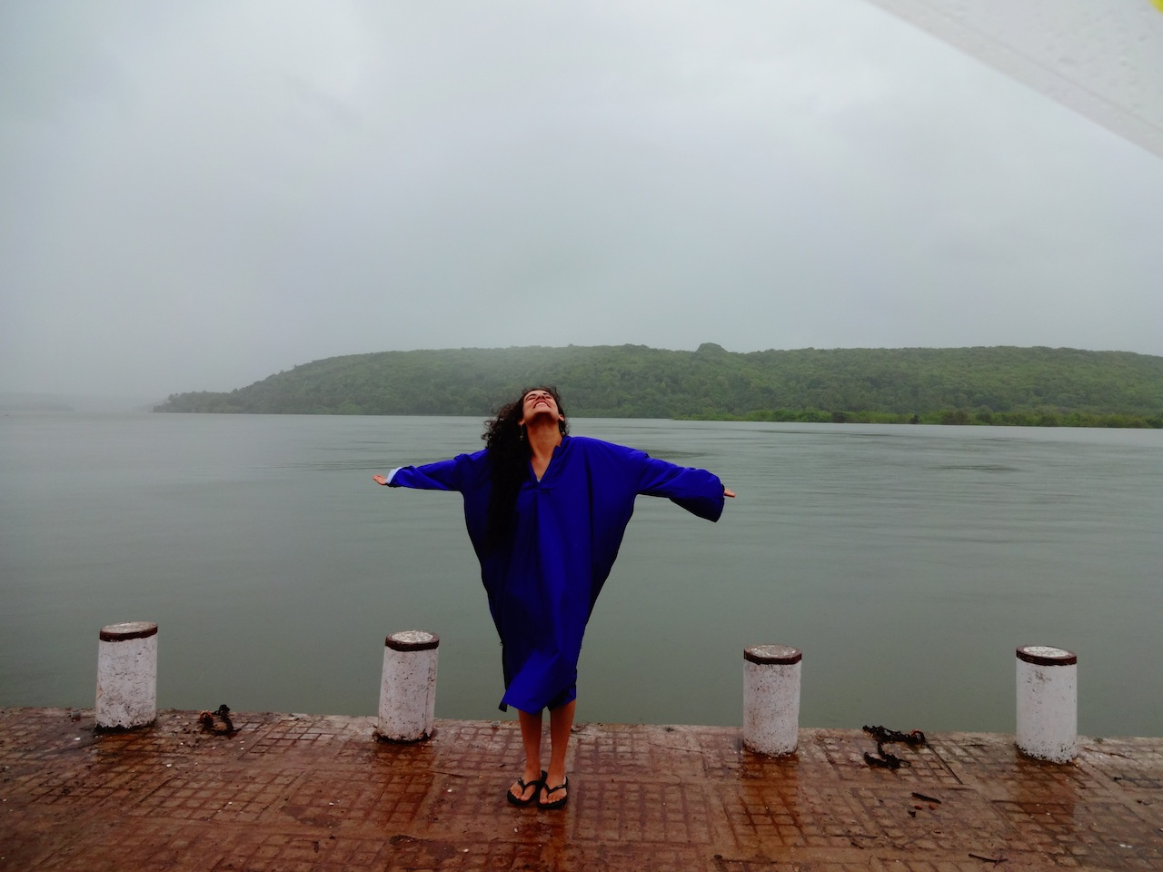 Welcoming the rains with open arms