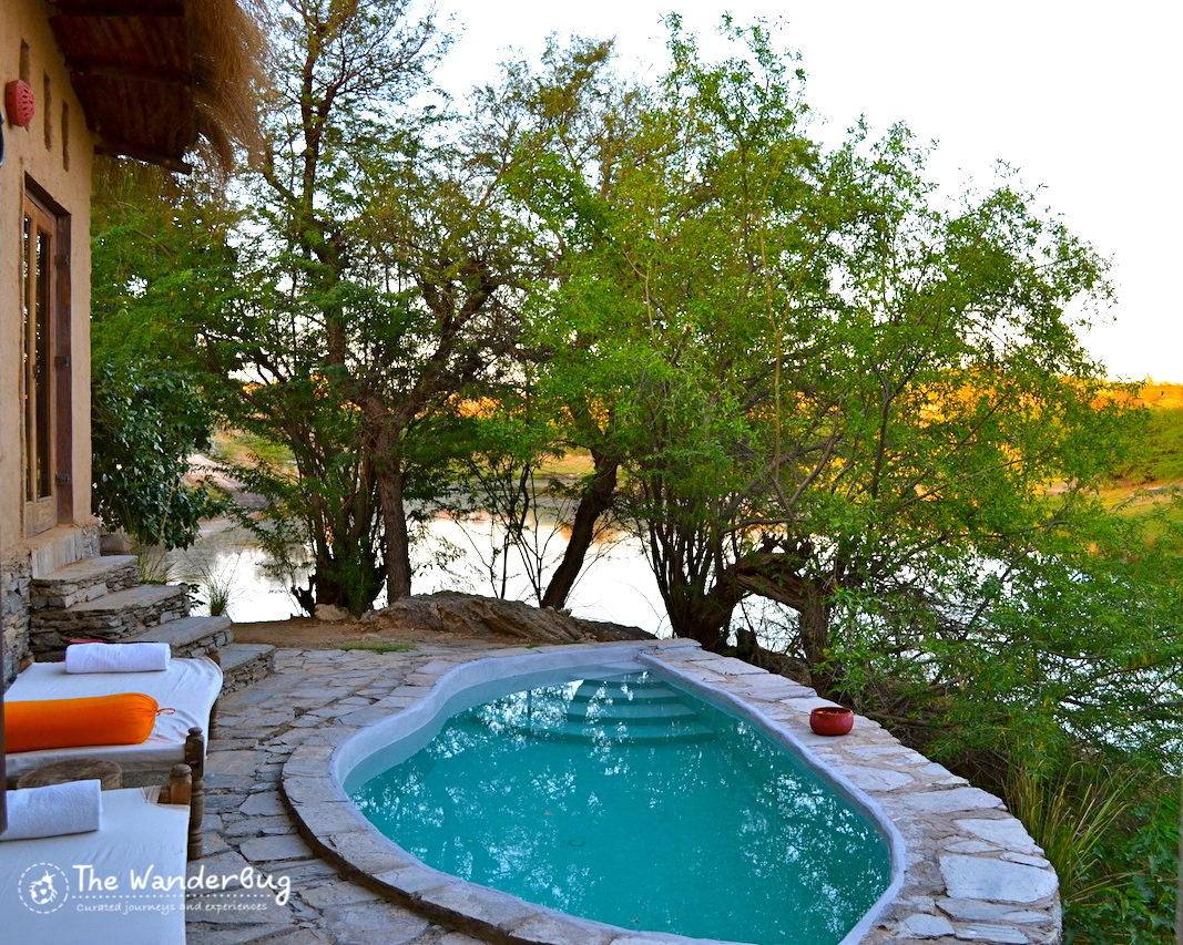 Private plunge pool!