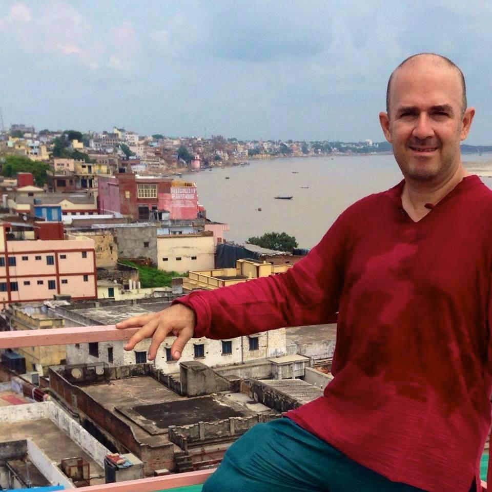 Erick in Pushkar, Rajasthan