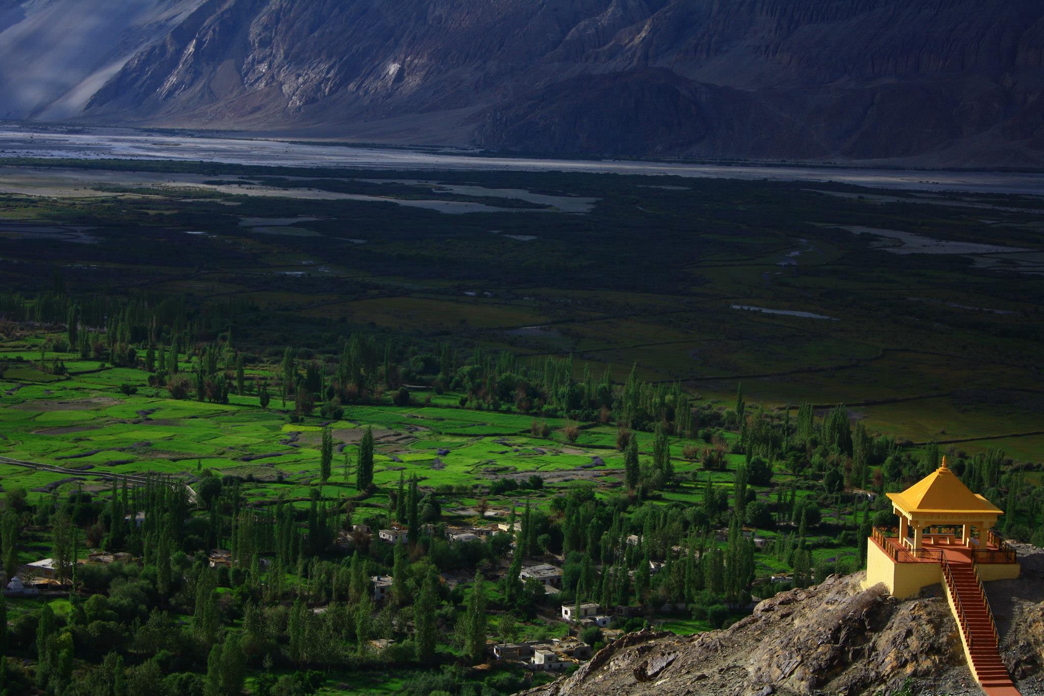 luxury retreat in nubra valley
