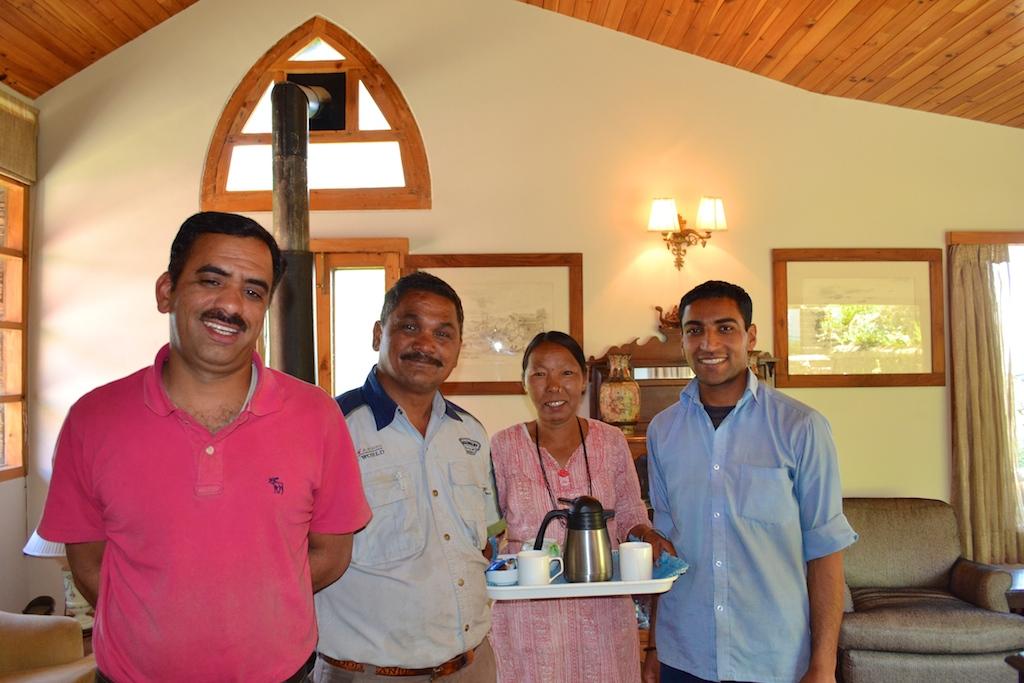 Manager Prem, Maali bhaiya, Maya didi and Prakash.