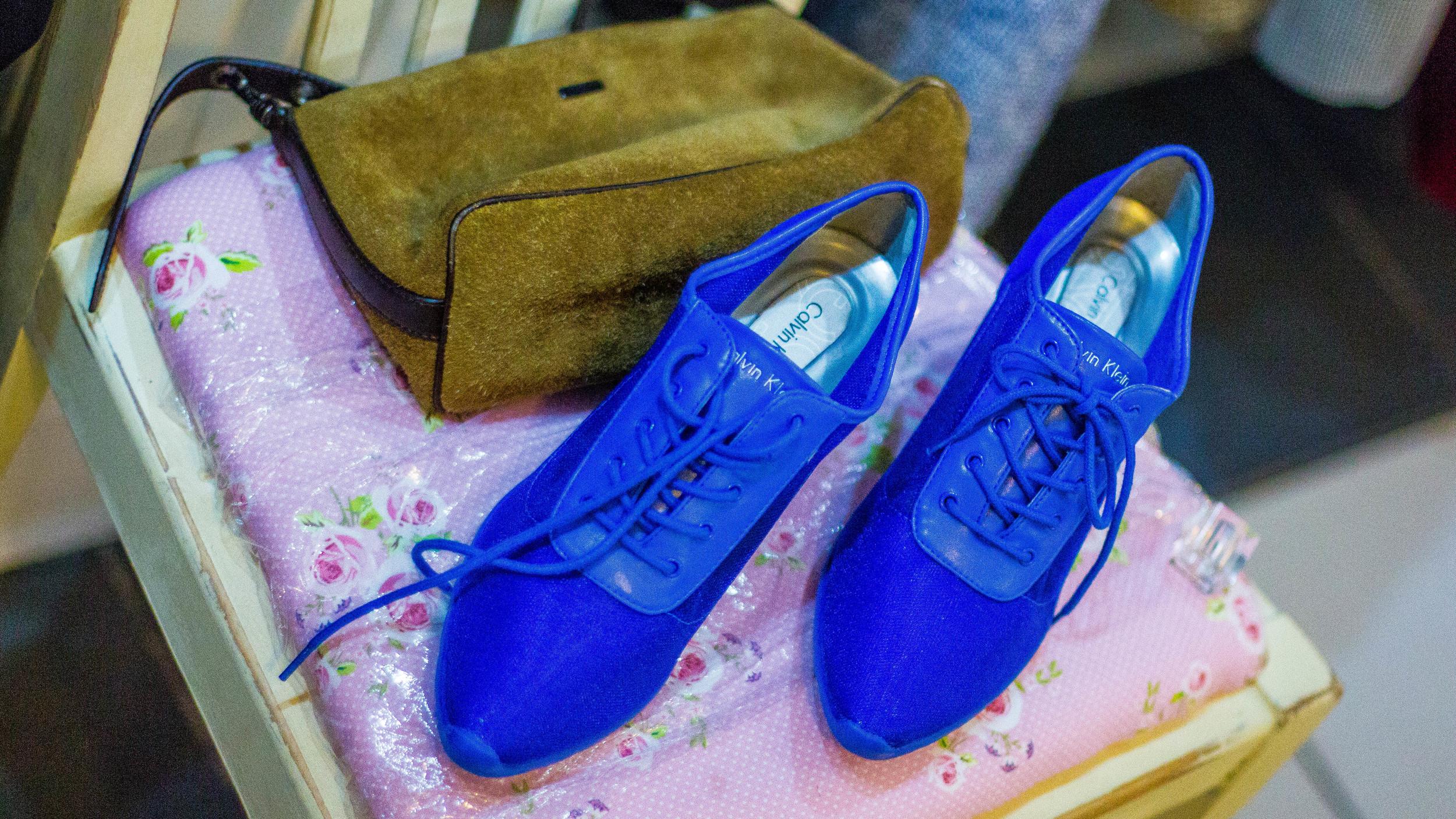 Miu Miu bag and Calvin Klein shoes