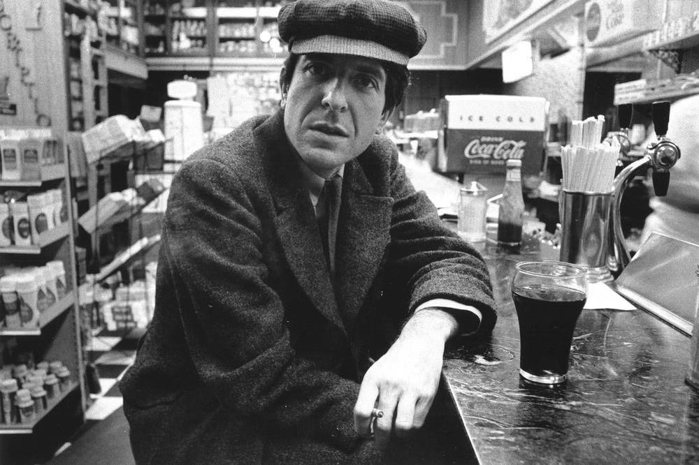 Leonard Cohen During His Chelsea Hotel Period In The 1970s