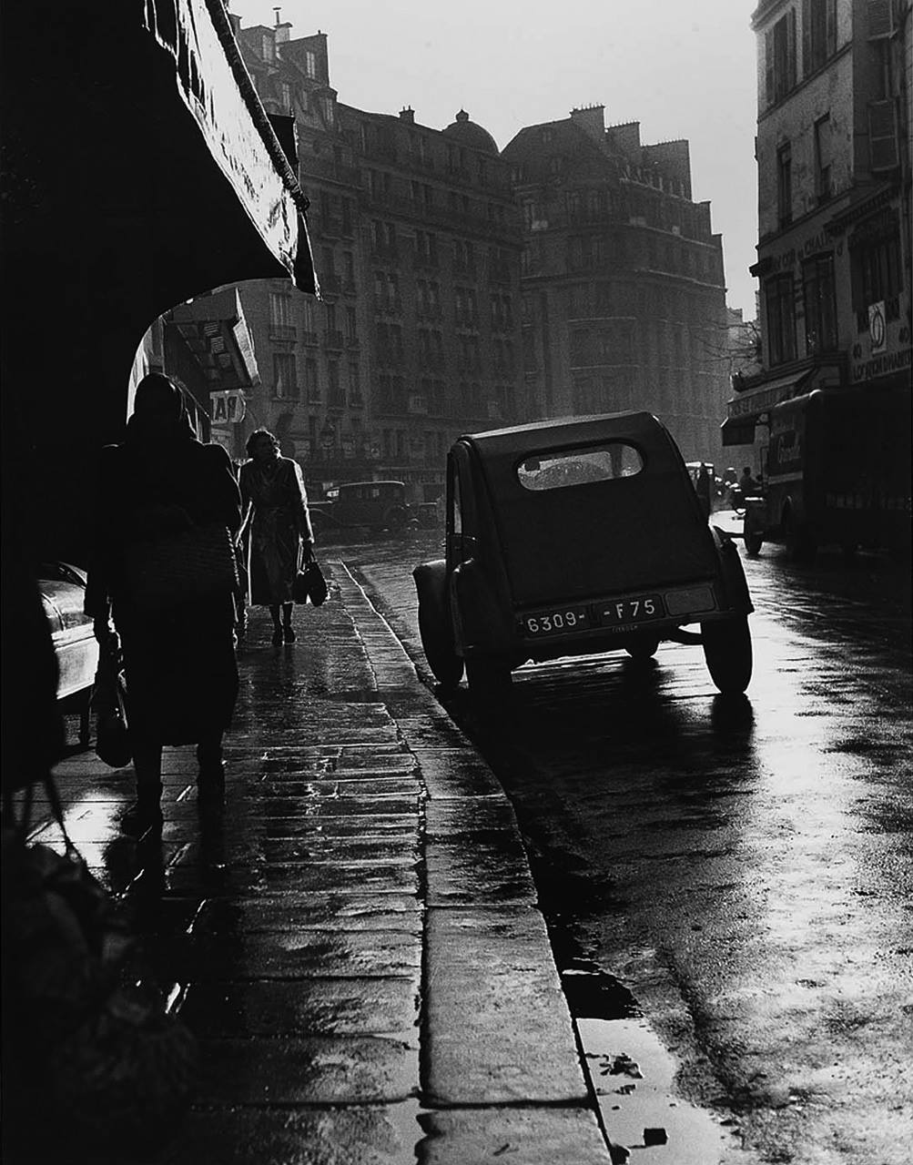 Rue des Plantes, 1950. Photo: Todd Webb