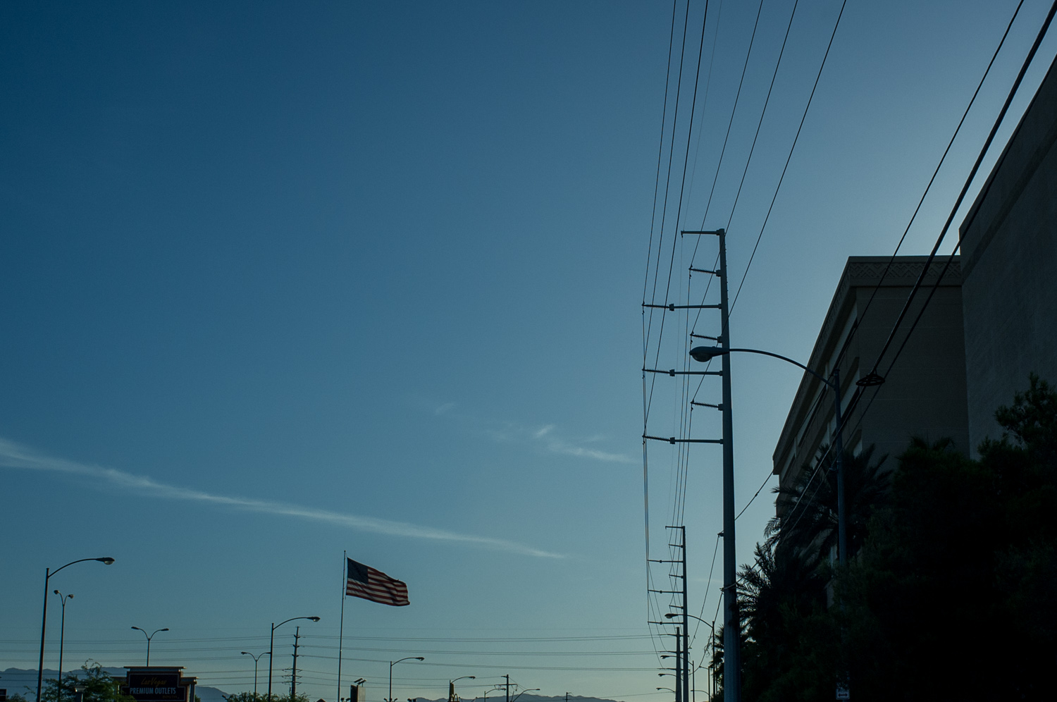 The American flag is EVERYWHERE; just in case you forget where you are ;)