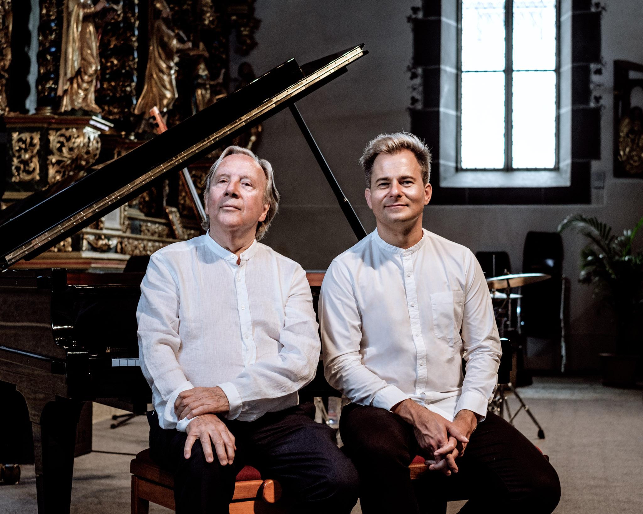 Heinz Spoerli & Charl du Plessis I, Musikdorf, Ernen, 2017
