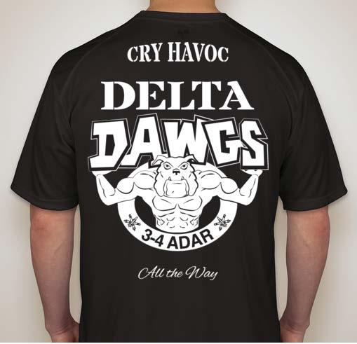 Delta Dawgs T-shirt design