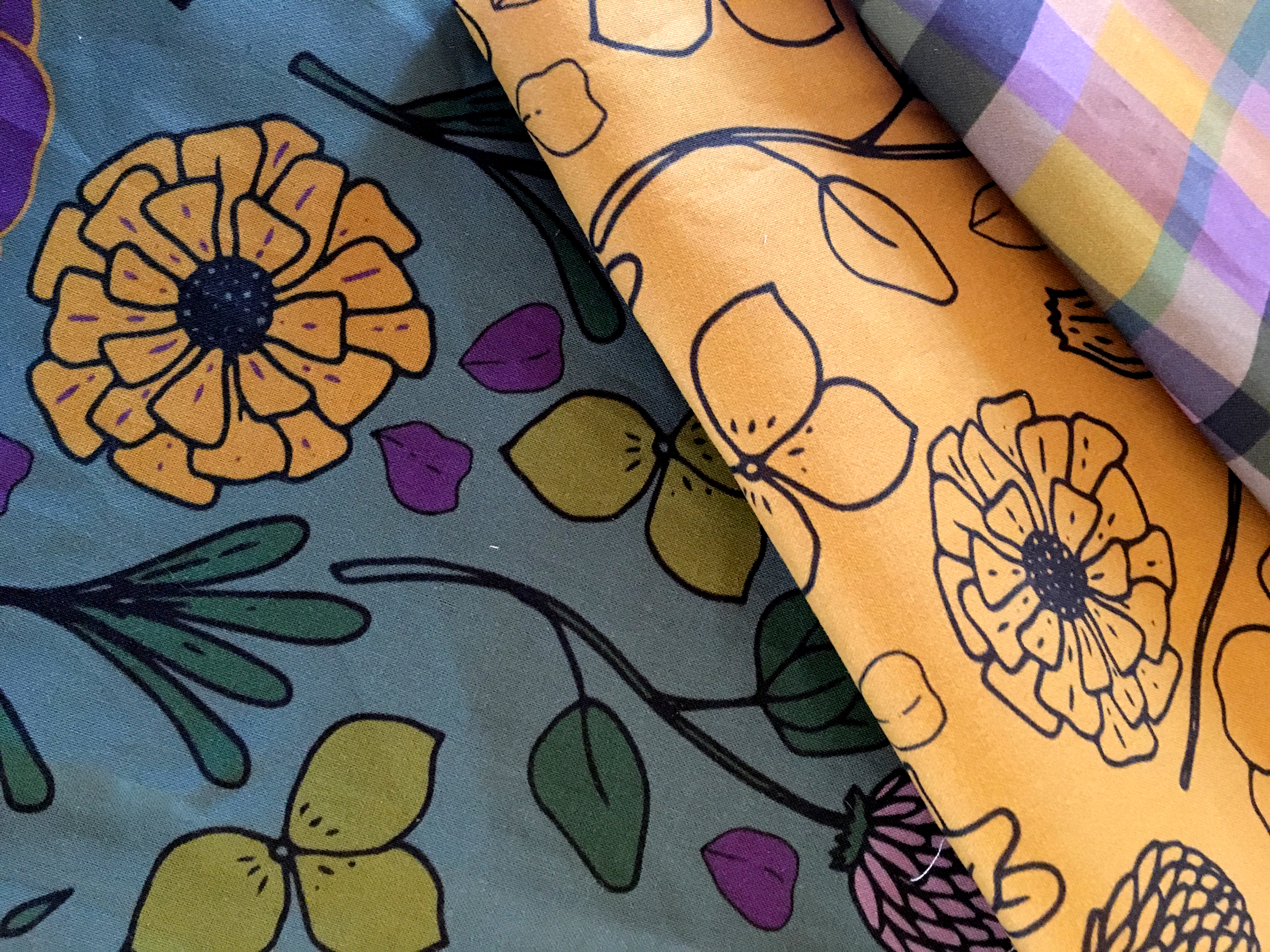My first Fabric Collection on Spoonflower — Jackie Hurd