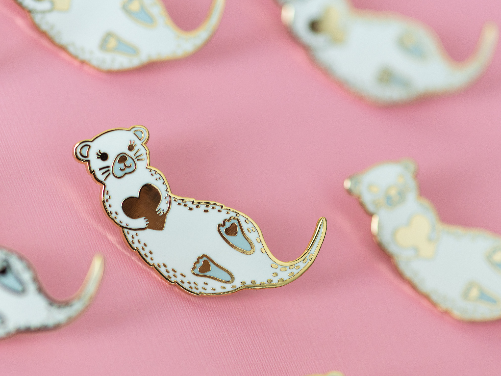 Significant Otter Pin