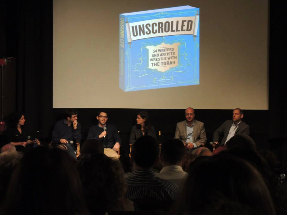 Unscrolled Panel at NYC Launch