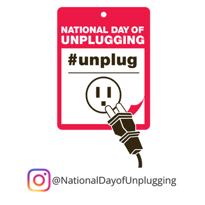 Enter our National Day of Unplugging Sweepstakes to win this kit of goodies designed to help you unplug!