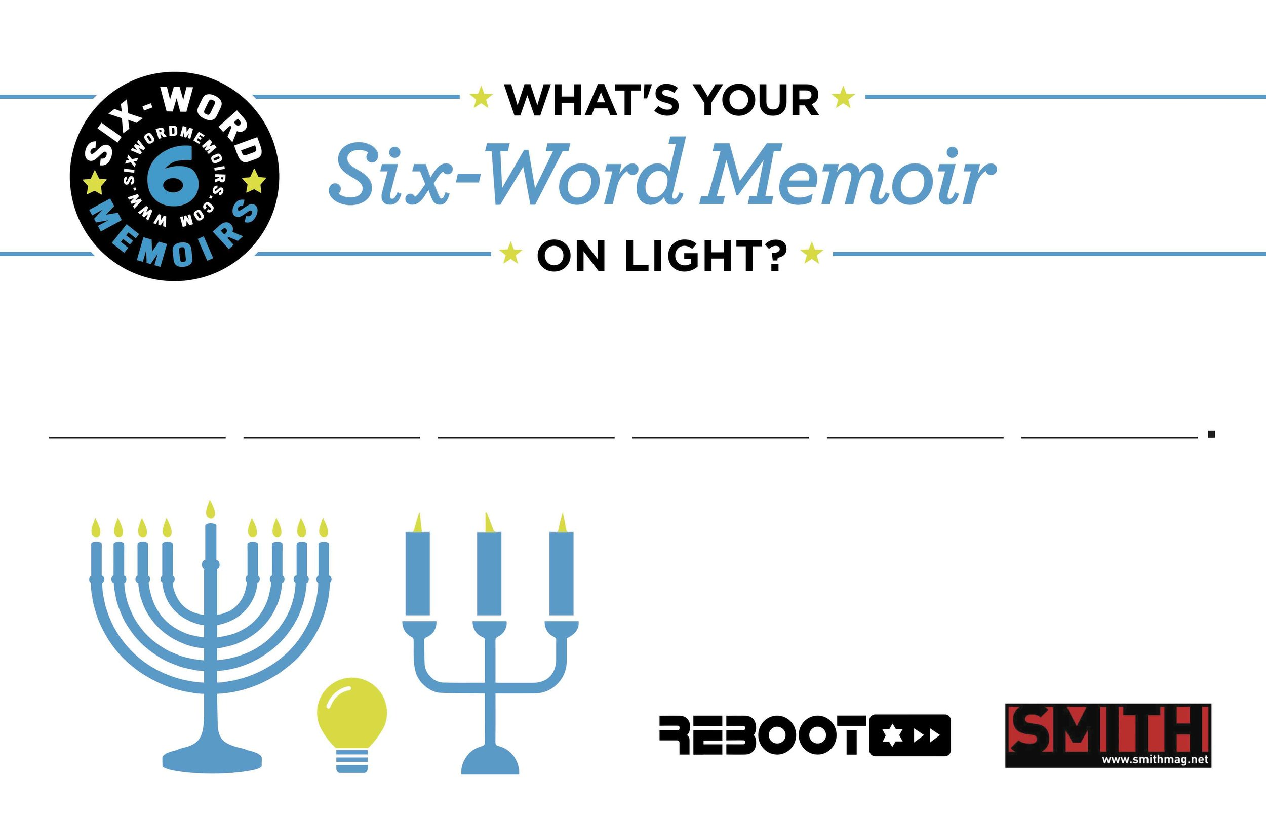 Six Word Memoir Postcard on Light (1).jpg