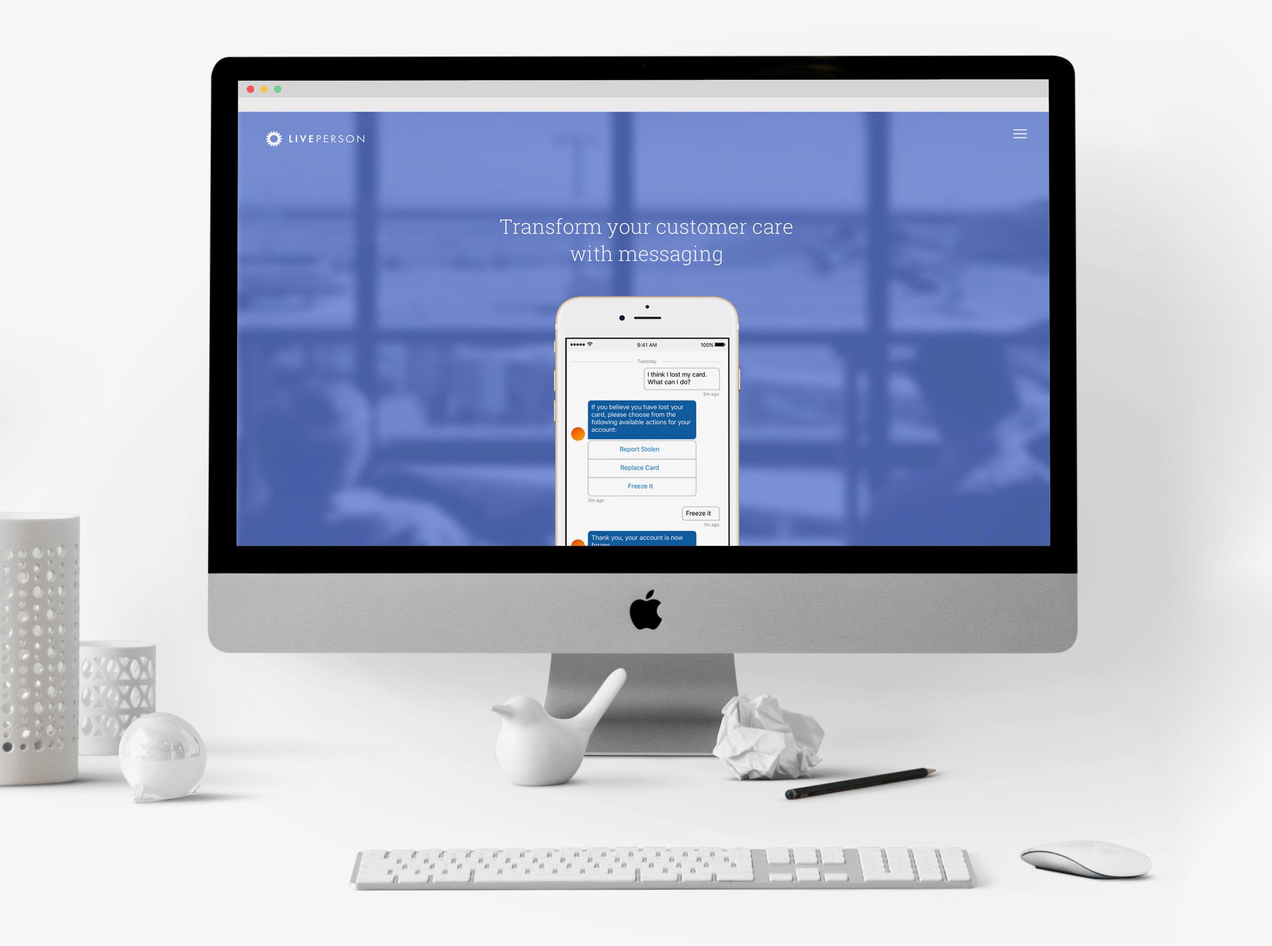 LivePerson Web Design