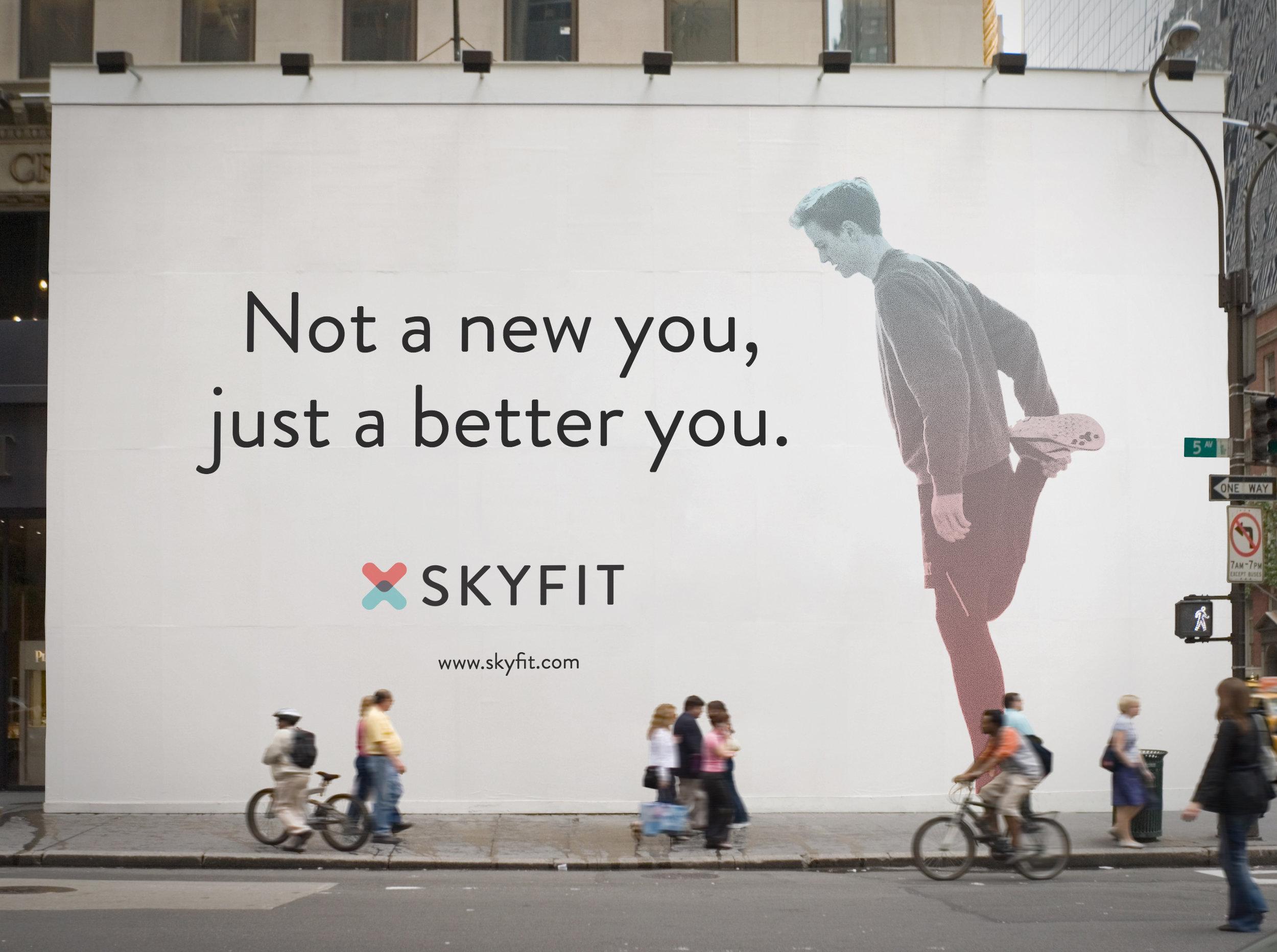 Skyfit Visual Identity