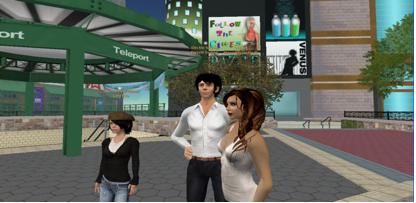 figure 1: Second Life (http://www.polygon.com)