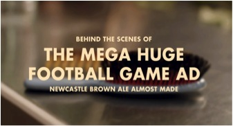 """Image 1. Newcastle Brown Ale """"Ifwemadeit"""" ad ft Anna Kendrick received 5m hits on their YouTube account (www.ifwemadeit.com)."""